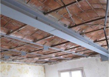 Rehabilitaci n y restauraci n de estructuras en edificios - Forjado viguetas metalicas ...